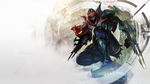 Zed - League of Legends by Roxelm