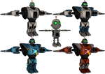 Ratchet and Clank: FFA - Clank Armor Pack by o0DemonBoy0o
