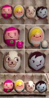 Easter Eggs '13: Fionna and Cake Edition! by foxtopus-jones