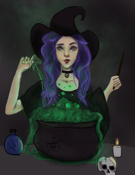 Witch's Brew by MizuxAme