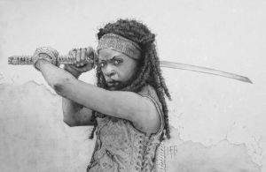 Michonne by tomasoverbai