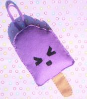 Angry Popsicle Wrist Pouch by RyuuseiHime