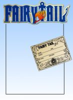 Fairy Tail ID - Blank by HachimonTonko