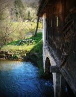 Old mill on the river Gradac IV by VesnaRa-14