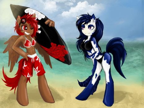 Beach Season by CruelSeptember