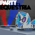 Album Art - Party in Equestria! by Psalmie