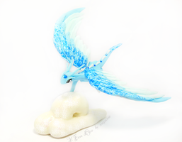 Aither, Sky Spirit dragon 2 by rosepeonie