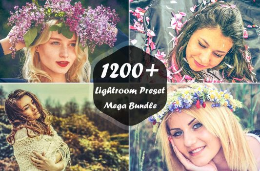 1000+ Lightroom Presets Mega Kit by symufa