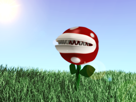 Piranha Plant by Nragemachine