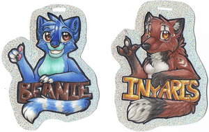 Badges set 3 by therougecat