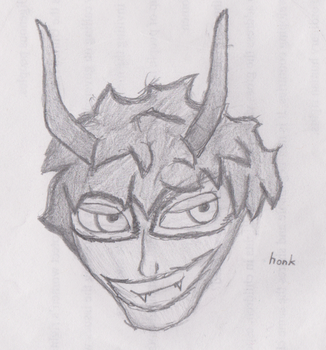 Not Actually a Devil by Pencil-Stub