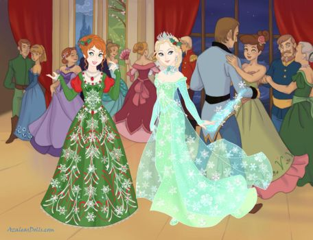 A Frozen Christmas by LadyIlona1984