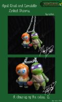 Apriltello Linked Charms by nichan