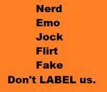Don't Label. by botifu