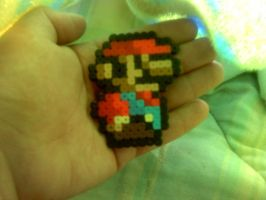 Little Mario perler by dylrocks95