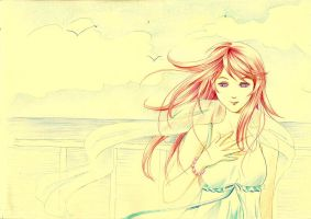 Fille rousse by Risa1