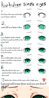 simple 7 step eye tutorial by necromae