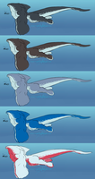 Doodle Concept - Werewhale by SpottedAlienMonster