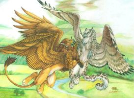 Wings of Love by Goldenwolf