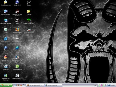 Skull desktop by schmitthrp