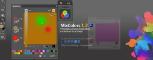 MixColors 1.2, the Photoshop color mixer by Anastasiy