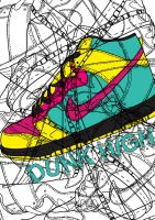 DUNK HIGH by KevoeWest