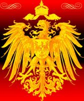 Imperial eagle golden by Arminius1871