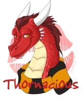Thorn badge by Ryunwoofie by Thornacious