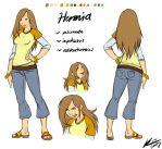 modern Hermia - MSND project by onnanoko