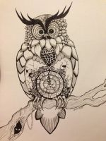 Owl by LiNdaBE