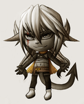 Chibi Nyarro by CofL-fee