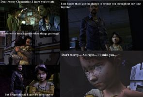 The Walking Dead the Game: Lee's feeling by Neko-Herrington