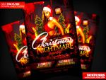 Christmas Nightmare Party Flyer by Industrykidz