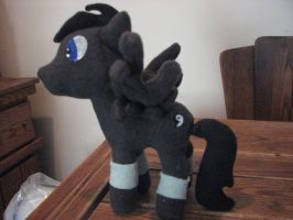 NightHawk Pony Plush by FungalZombieX
