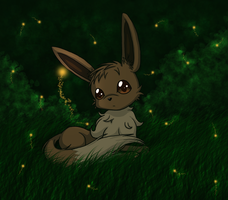 Eevee by SeaJelli