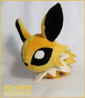 Jolteon chibi pokedoll by MagnaStorm