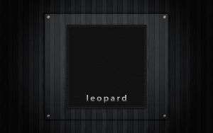 Leopard Login Background by LoafNinja