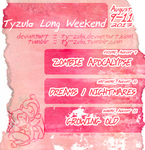 Tyzula Long Weekend 2013 by Eevachu