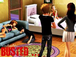 Busted.. by TheSims3KawaiiMaker