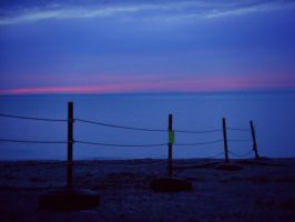 Late Beach Sunset by livinglove99