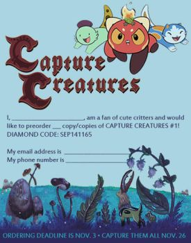 Capture Creatures is now a monthly comic book! by Pocketowl