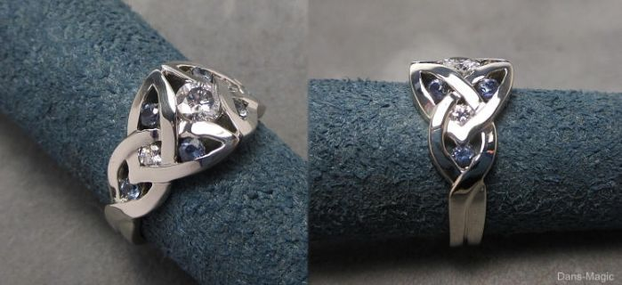 Celtic knot ring by Dans-Magic
