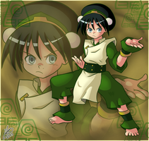 Waifu Month 14 - Toph Beifong by Ian-the-Hedgehog