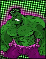 The Hulk Colored by TheJokesOnYou