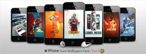 Giant Pack of iPhone Walls - Part 3 by WalidGFX