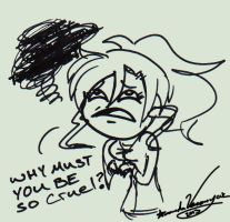 Why Must You Be So Cruel by Veronyak