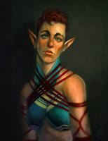 Lore Lavellan by daPatches