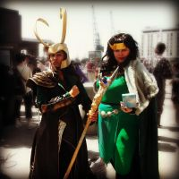 Loki x2 - May Expo 2012 by ICannotDrawToSaveMe