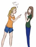BookAnnabeth vs MovieAnnabeth by wondernez