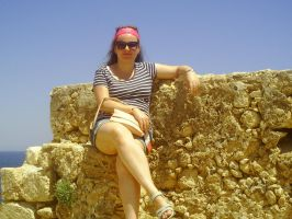 Me In Fortress Of Rethymno by AnneMarie1986